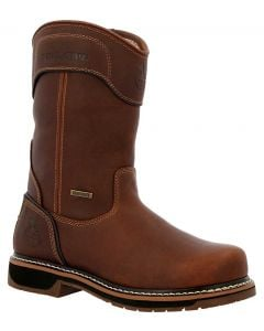 Georgia Boot Men's Amp LT Edge 10in Pull On Boots Brown