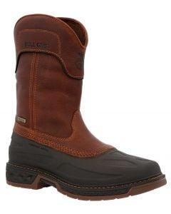 Georgia Boot Men's Carbo-Tec LT Ranch 11in Pull on Brown Black
