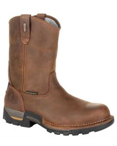 Georgia Boot Men's Eagle One 10in Pull On Boot Brown