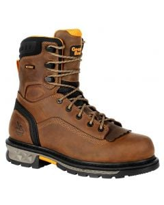 Georgia Boot Men's Carbo-Tec LTX 8in Kiltie Boot Brown