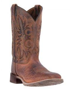 Laredo Men's Rustic Rancher Stockman Rust