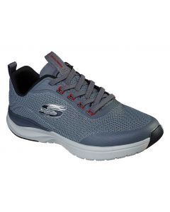 Skechers Men's Ultra Groove Live Session Charcoal Red