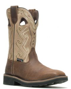 Wolverine Men's Rancher Aztec ST Wellington Bone