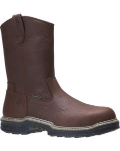 Wolverine Men's Buccaneer WP Wellington Dark Brown