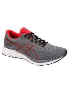 Asics Men's Excite 6 Steel Grey Classic Red