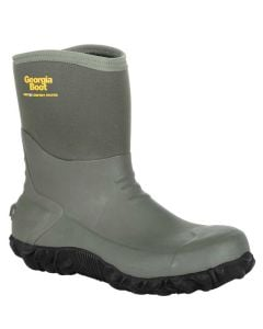 Georgia Boot Men's 10 Inch WP Rubber Boot Olive