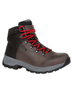 Georgia Boot Men's 6 Inch WP Eagle Trail Hiker Grey Black