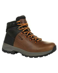 Georgia Boot Men's 6 Inch Eagle Trail WP Hiker Brown Orange