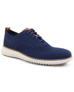 Cole Haan Men's 2.Zerogrand Wingtip Oxford Blue Grey