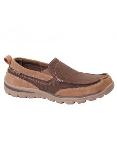 Skechers Men's Superior Milford Light Brown