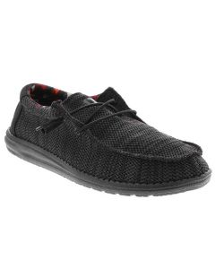 Hey Dude Men's Wally Sox Jet Black
