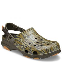Crocs Men's Classic All-Terrain Mossy Oak Bottomland Khaki