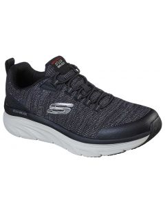 Skechers Men's D'lux Walker - Pensive Black White