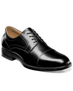 Florsheim Men's Midtown Cap Toe Oxford Black