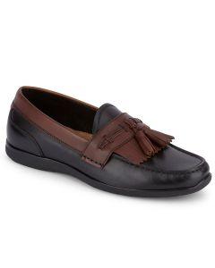Dockers Men's Landrum Black Tan