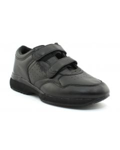 Propet Men's LifeWalker Velcro Black