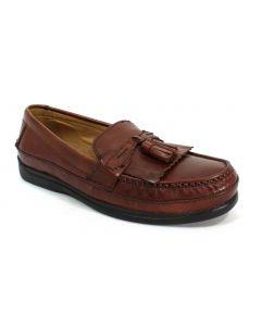 Dockers Sinclair Brown Tassel Loafer