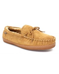 Lamo Moccasin Chestnut Slippers