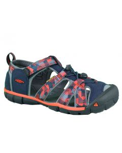 KEEN Kids Seacmp II CNX Dress Blues Spicy Orange