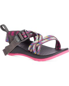 Chaco Little Kids ZX/1 EcoTread Fletched Pink