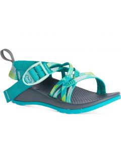 Chaco Little Kids ZX/1 EcoTread Puzzle Opal
