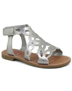 Rachel Shoes Kids Lil Krista Silver Metallic