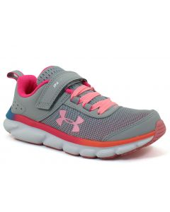 Under Armour Toddlers Assert 8 Grey Pink