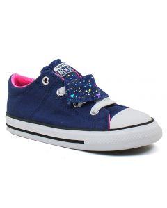 Converse Kids Chuck Taylor All Star Maddie Navy Pink