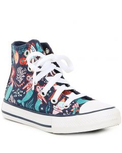Converse Kids Underwater Party CTAS Navy Rapid Teal White