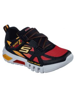 Skechers Kids Flex Glow Lowex Black Red