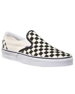 Vans Kids Classic Slip-On Black White Checkerboard White