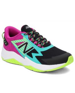 New Balance Kids Rave Run Black Berry