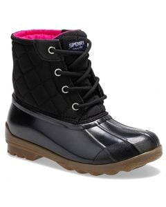 Sperry Kids Port Duck Boot Black