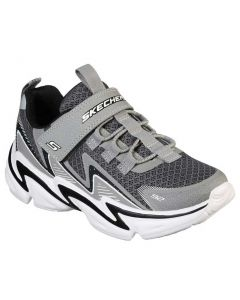 Skechers Kids Wavetronic Grey Black