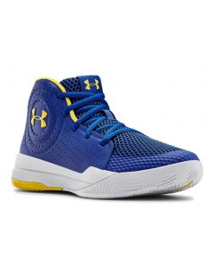 Under Armour Kids Grade School UA Jet 2019 Royal White Taxi
