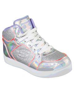Skechers Kids Energy Lights Ultra Glitzy Glow Silver