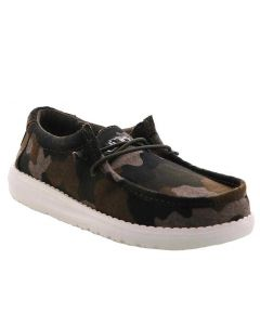 Hey Dude Kids Wally Youth Camo