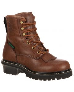 Georgia Boot Kids 5 Inch WP Logger Brown