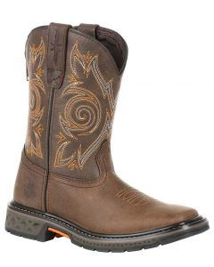 Georgia Boot Kids Carbo-Tec LT Brown