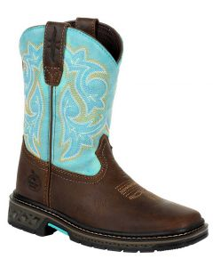 Georgia Boot Kids Carbo-Tec LT Brown Jade