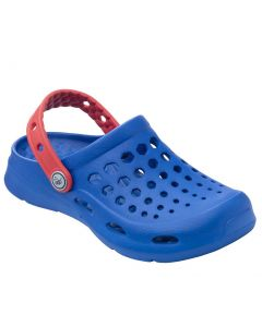Joybees Kids Active Clog Blue Red