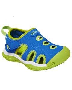KEEN Kids Stingray Brilliant Blue Chartreuse