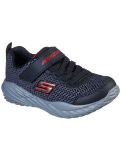 Skechers Kids Nitro Sprint Krodon Black Grey Red