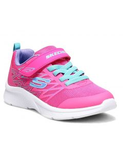 Skechers Kids Microspec Bold Delight Hot Pink