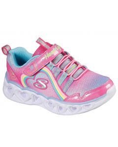Skechers Kids Heart Lights Rainbow Lux Pink Multi