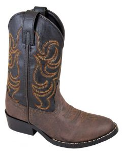 Smoky Mountain Boots Kids Monterey Western Boot Brown Black