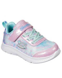Skechers Kids Comfy Flex 2.0 Dazzling Dream Pink-Aqua