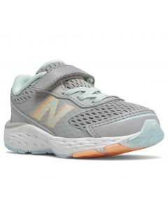 New Balance Toddlers 680v6 Rain Cloud With Pale Blue