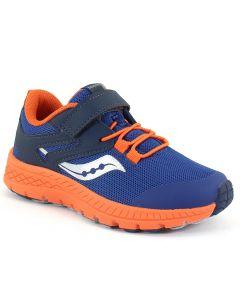Saucony Kids Cohesion Sport Blue Orange