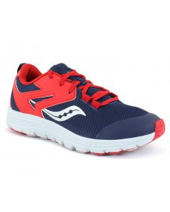 Saucony Kids Cohesion Sport Navy Red